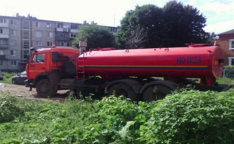Коммунальная авария в Северо-Задонске: жителям организуют подвоз питьевой воды