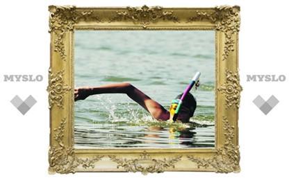 Тульским пловцам помогли родные берега