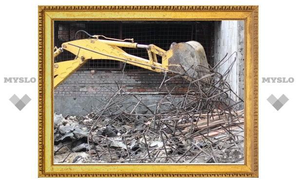 Демонтаж тульского кукольного театра остановлен