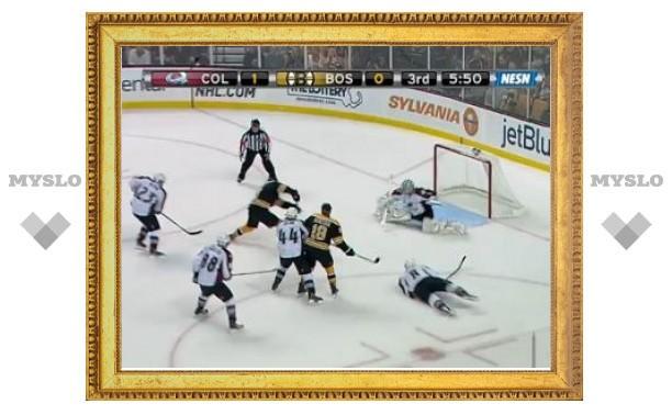 Российский вратарь стал первой звездой дня в НХЛ
