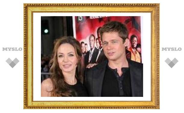 Джоли и Питт объявили о совместном телепроекте