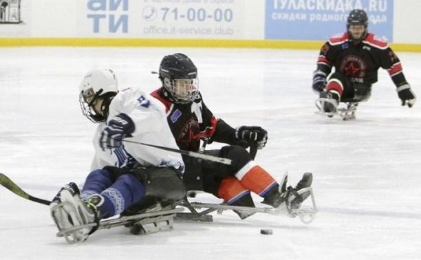 В Алексине пройдёт «матч звёзд» по следж-хоккею