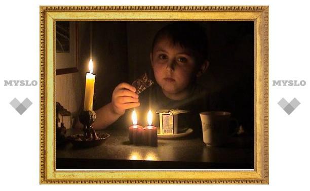 Киреевский район Тульской области остался без света