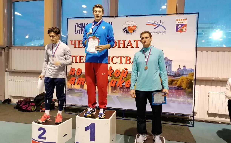 Тульские легкоатлеты взяли шесть медалей на соревнованиях в Смоленске