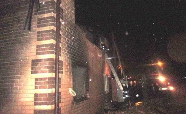 В Узловой сгорел молельный дом мусульман