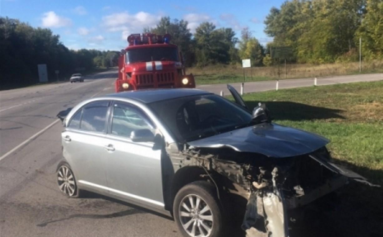 В Тульской области в ДТП с грузовиком пострадал ребенок