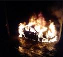 Ночью в Криволучье сгорела легковушка