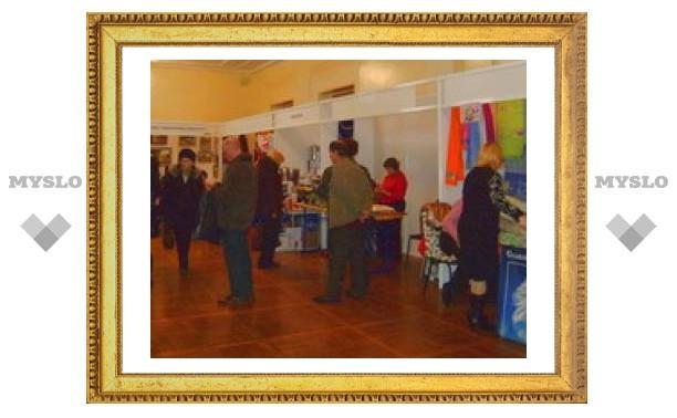 В Туле проходит выставка народных промыслов