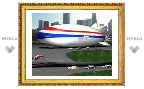"""В США строится первый образец """"воздушной яхты"""""""