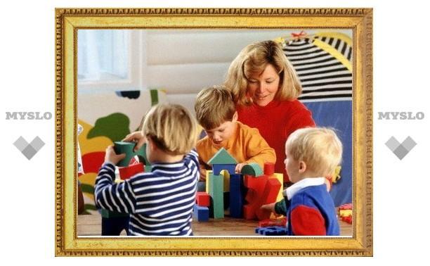 В 2013 году в Туле появится два новых детских сада
