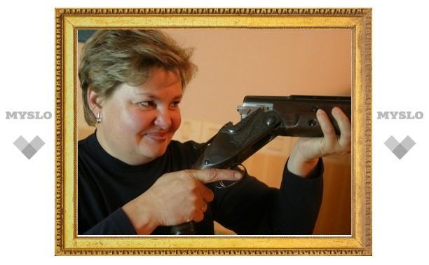 Мария Волкова всегда стреляет в яблочко