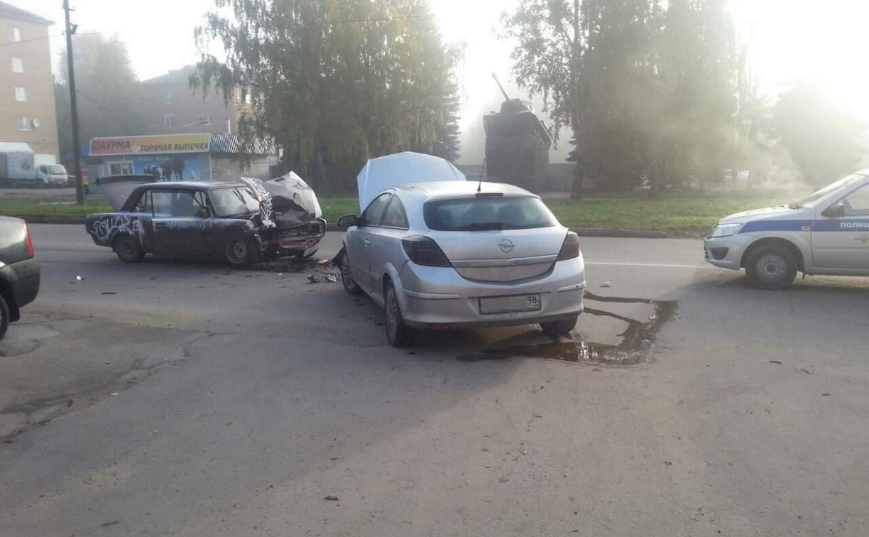 В Щёкино в ДТП пострадала 14-летняя девочка