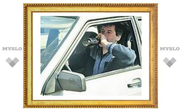 Водителям разрешат садиться за руль выпивши
