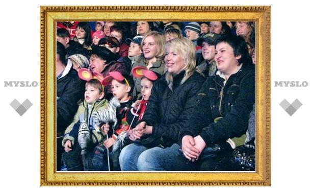 Тульские циркачи бесплатно выступят для детей