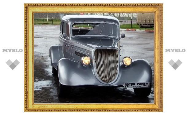 Тулякам покажут редкие автомобили