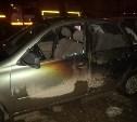 В Щёкино ночью сгорели сразу три автомобиля
