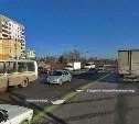 Из-за ДТП на улице Рязанской образовалась огромная пробка