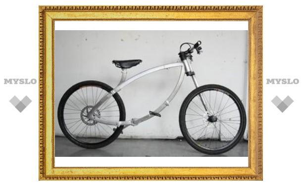 Contortionist - велосипед, сворачивающийся до размеров колеса