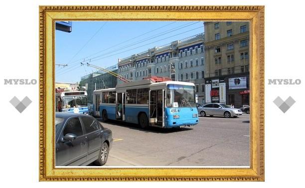 В Туле троллейбусы №8 временно прекратят движение