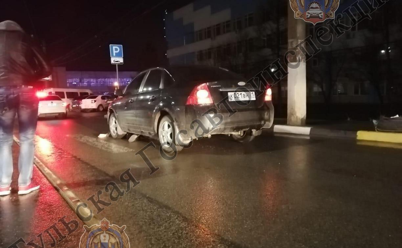 В Туле пешеход погиб в ДТП