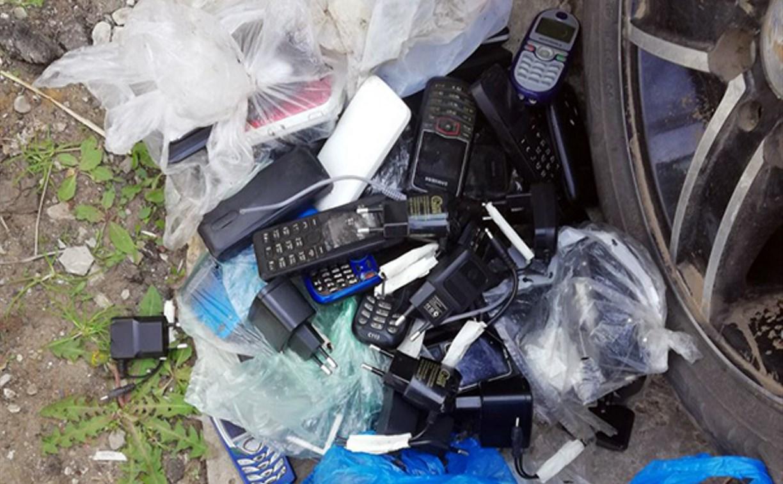 В колонии под Тулой изъяли 70 мобильных телефонов