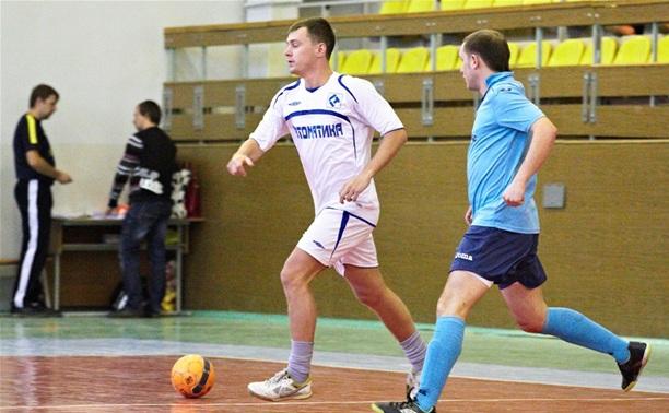 В Тульской лиге любителей футбола прошел суперматч