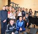 Спортзал ДК посёлка Тёплое пополнили новые тренажёры