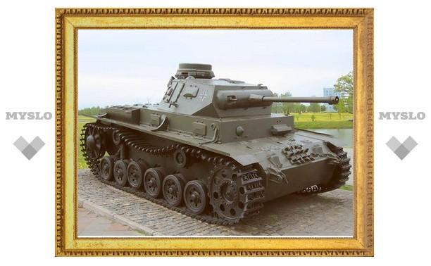 Под Тулой поисковики нашли фашистский танк!