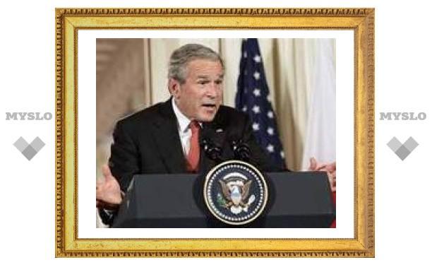 Рейтинг Джорджа Буша достиг исторического минимума