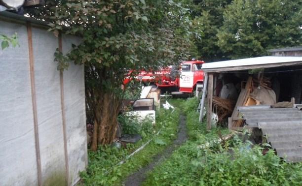 В Плавском районе при пожаре погибла пенсионерка