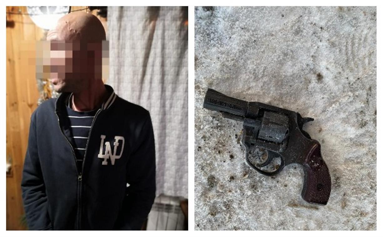 Дерзкий разбой в Туле: в Иншинском проезде мужчина с пистолетом ворвался в металлоприемку