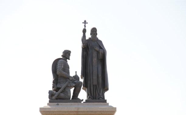 На Куликовом поле открыли памятник Дмитрию Донскому