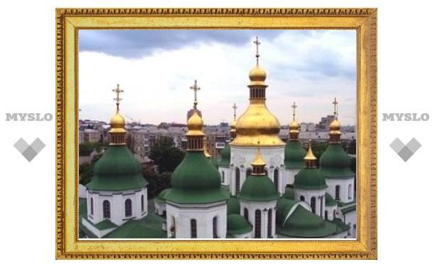 На Украине молились об избавлении от свиного гриппа