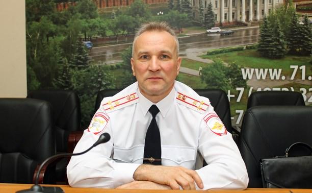 Начальник УГИБДД Тульской области написал рапорт на увольнение