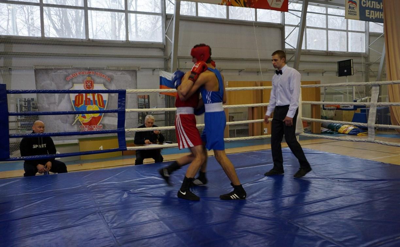 В Туле определились чемпионы области по боксу среди юниоров