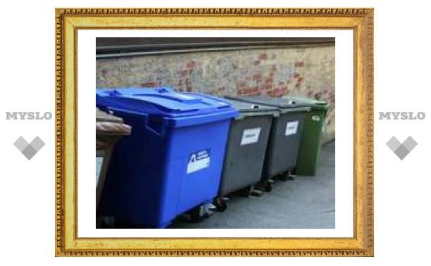 В Туле установят новые бачки для мусора