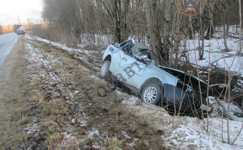 В Тульской области два человека погибли в ДТП