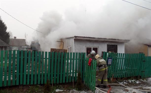 Детская шалость стала причиной пожара