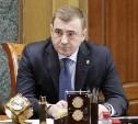 Алексей Дюмин провел рабочую встречу с руководством ОАО «МХК «Еврохим»