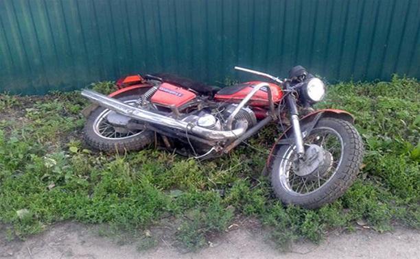 В Тульской области насмерть разбился мотоциклист