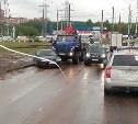На Ложевой из-за ДТП образовалась автомобильная пробка
