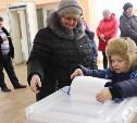 Жители Тульской области приходят голосовать целыми семьями