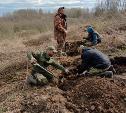 Тульские поисковики обнаружили останки восьми красноармейцев подо Ржевом