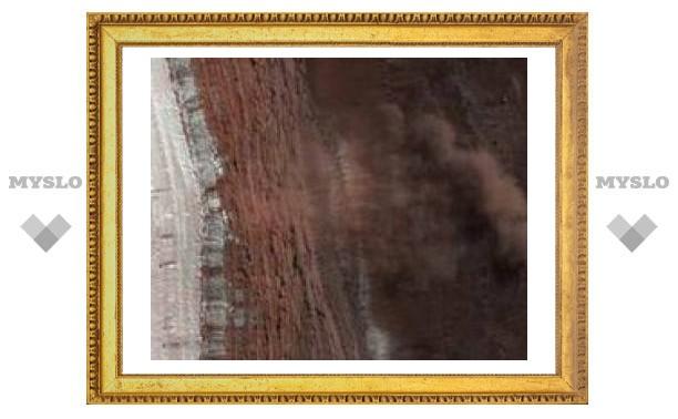 Получены фотографии схода лавин на Марсе