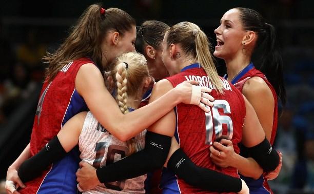 Олимпиада в Рио: Женская сборная России по волейболу обыграла Южную Корею