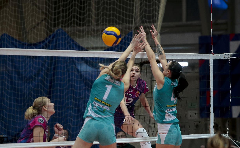 Волейбольный клуб «Тулица» проиграл липецкой команде: фоторепортаж
