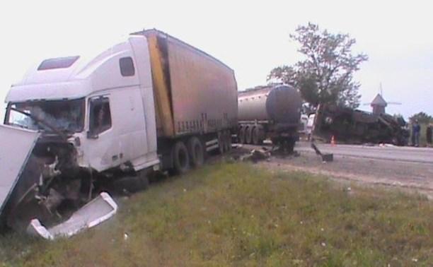 Туляк за рулём грузовика погиб в ДТП под Рязанью