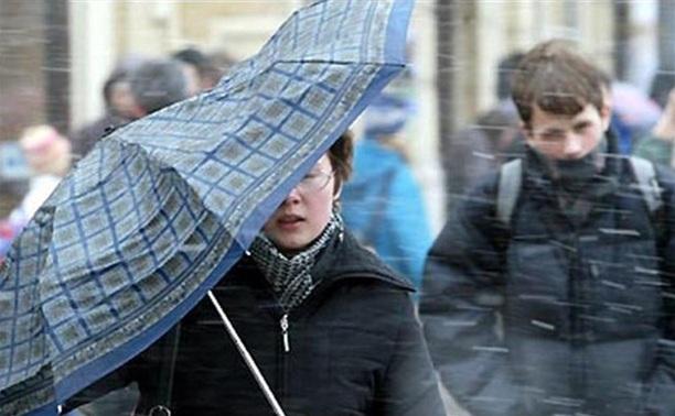 В Туле объявили штормовое предупреждение