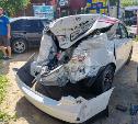 В Туле в массовое ДТП попали пять автомобилей