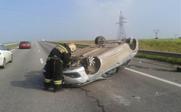 На автодороге «Тула-Новомосковск» произошло серьезное ДТП